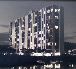 Atkinson Towers in 1961